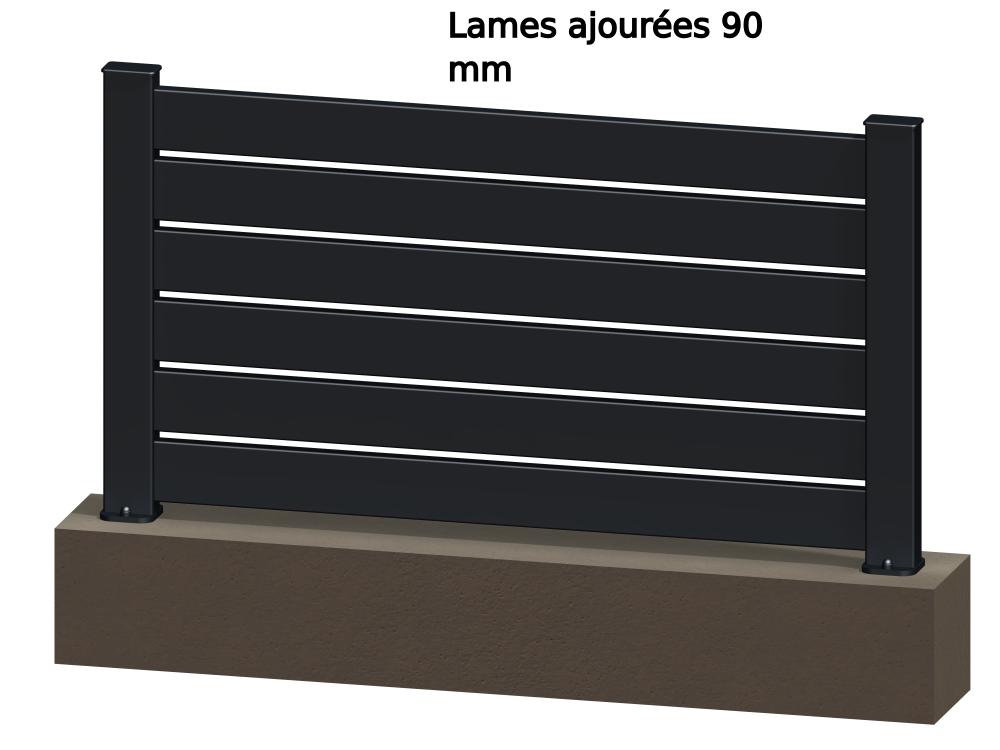Klos Up Le Concept De Clôture En Aluminium à Monter Soi Même